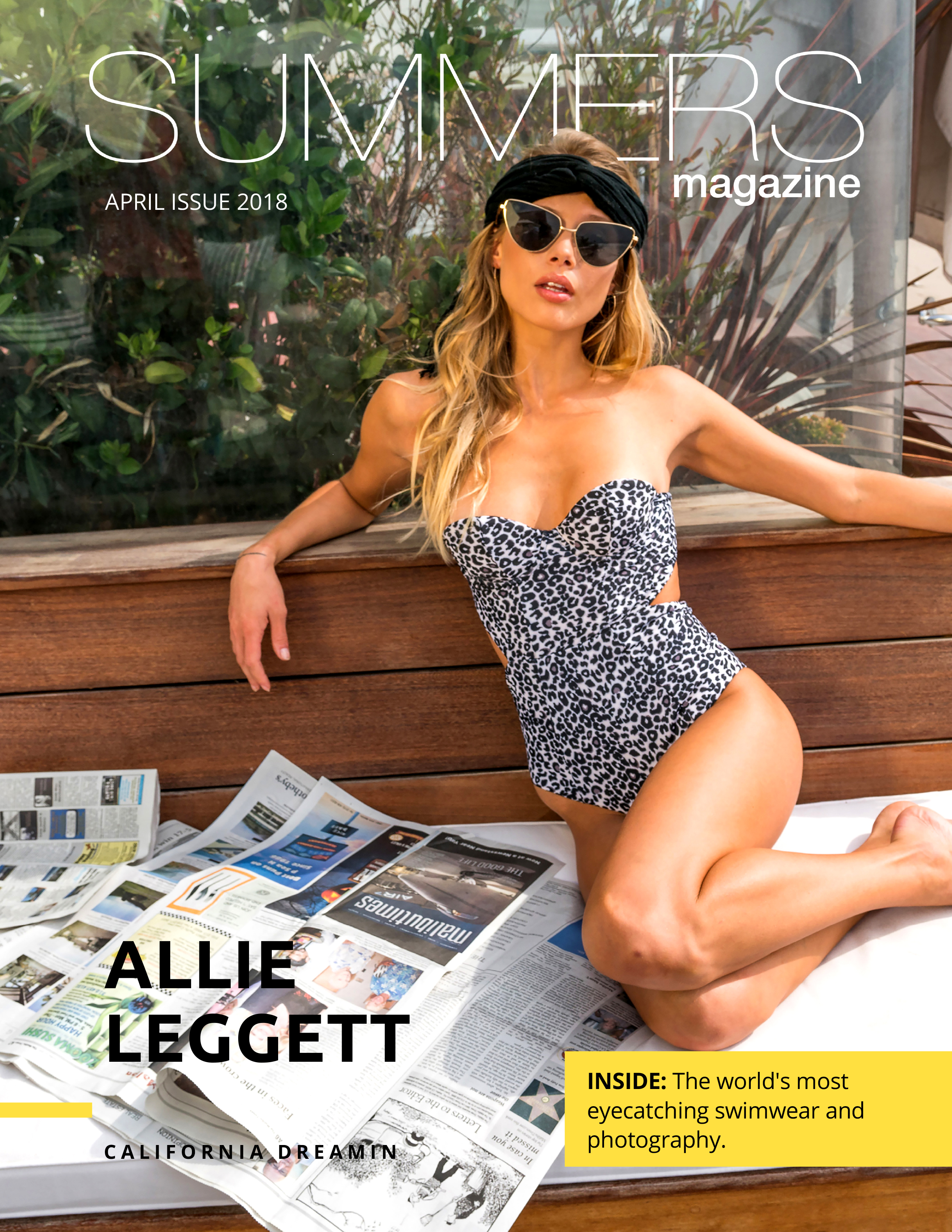 SUMMERS Magazine April 2018 - ft. Allie Leggett