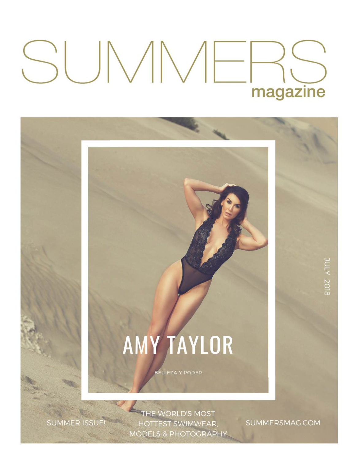 Summers Magazine - July 2018 ft. Amy Taylor