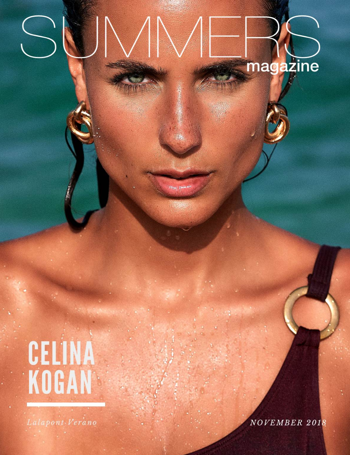 Summers Magazine November 2018 ft. Celina Kogan