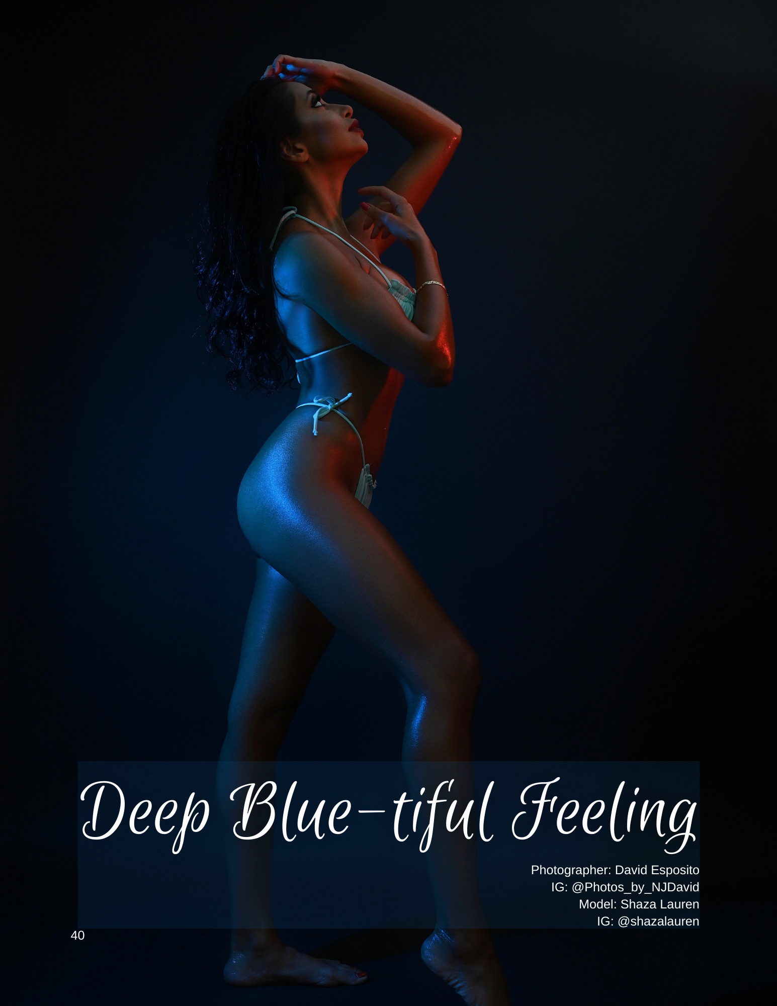 Deep Blue-tiful Feeling