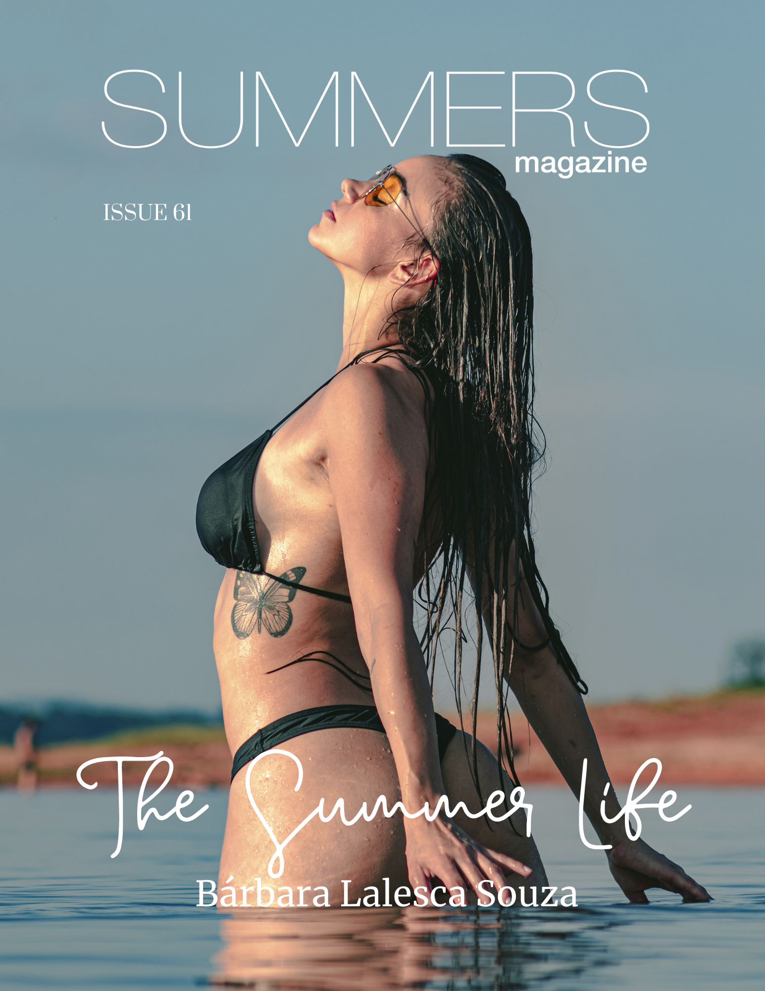Summers Magazine Issue 61 Featuring Bárbara Lalesca Souza