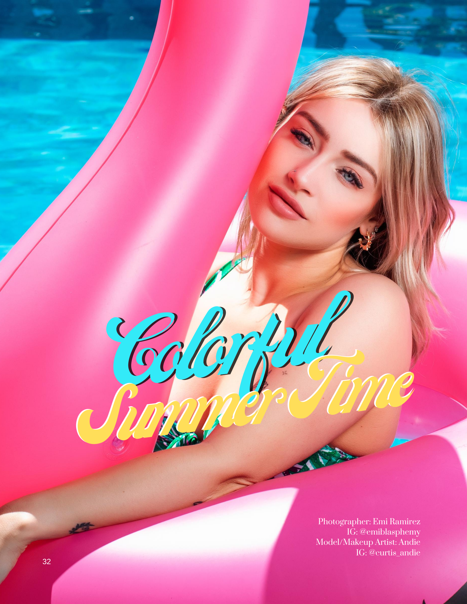 Colorful Summer Time