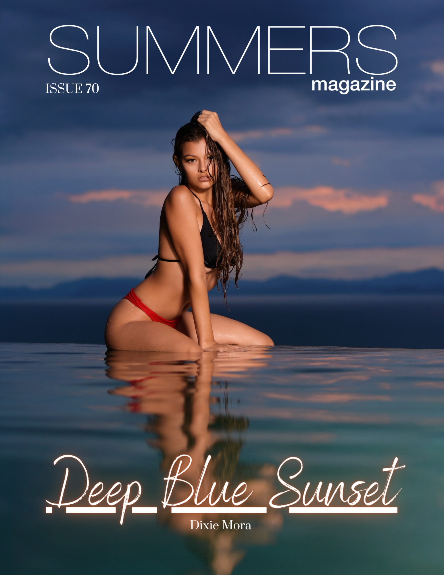 Summers Magazine Issue 70 Featuring Dixie Mora
