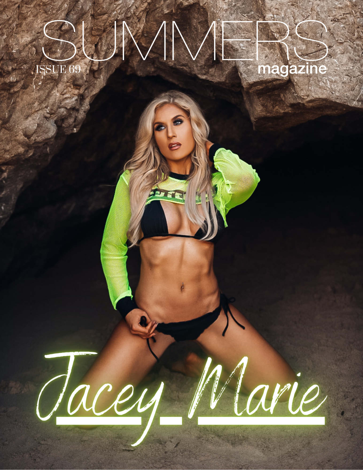 Summers Magazine Issue 69 Featuring Jacey Marie