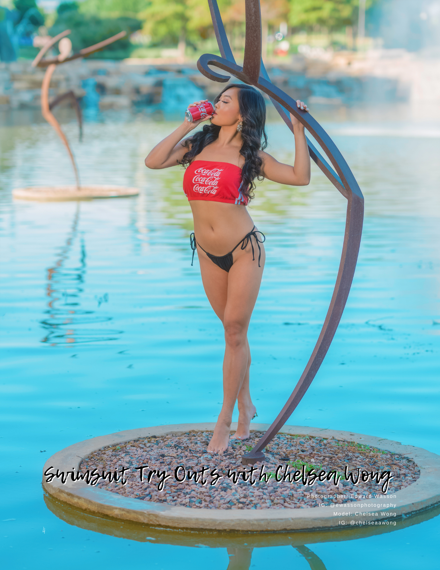 Swimsuit Try-Outs with Chelsea Wong